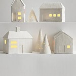 Porcelain-Luminaria-Village-Set