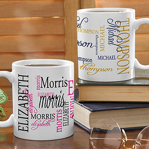 personalized christmas gifts-Mug