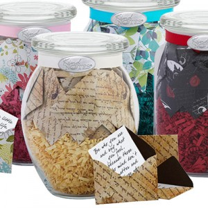 Customizable Jars of Messages