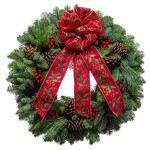 Holly Classic wreath