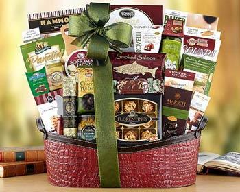 gourmet vegetarian gift baskets - 600×480