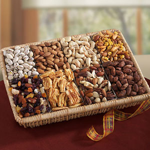 Office Nut Gift Basket & Nut Gift Baskets - Gift Ideas