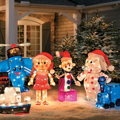Rudolph 3D Misfit Toys