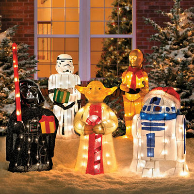 tinsel christmas star wars - Tinsel Christmas Decorations