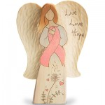 Live, Love, Hope Angel Figurine