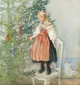 Decorating the Tree 1800s