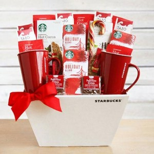Starbucks Fireside Holiday Gift