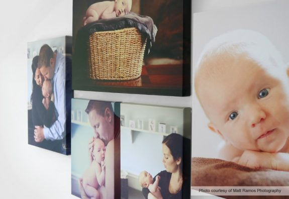 canvas photo Christmas gifts