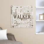 Family Word-Art Canvas # 9181754X