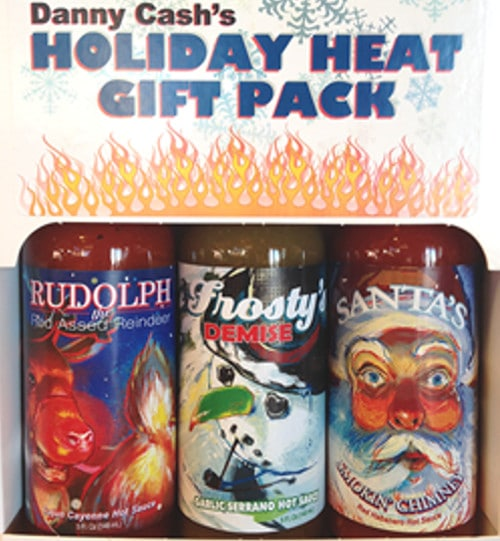 Danny Cash's Holiday Heat Gift Pack