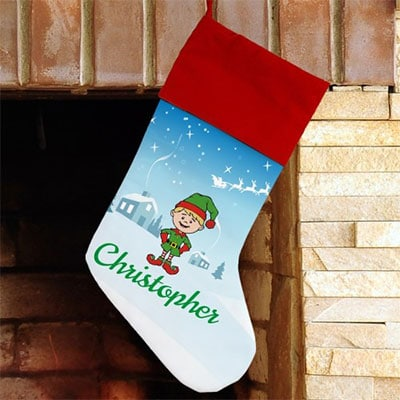 Christmas Character Personalized Stocking