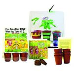 TickleMe Plant Greenhouse educational Christmas gifts for cool kids with Paint set