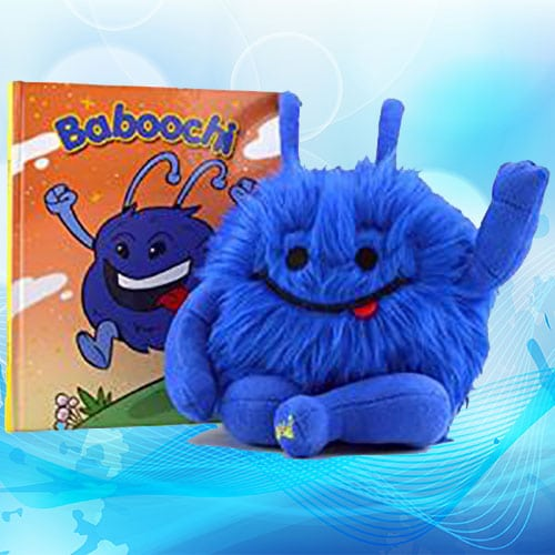 Baboochi Children's Toy and Book