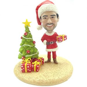 Santa Bobblehead