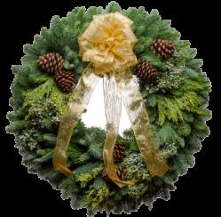 Santa's Favorite Wreath Christmas Giveaway