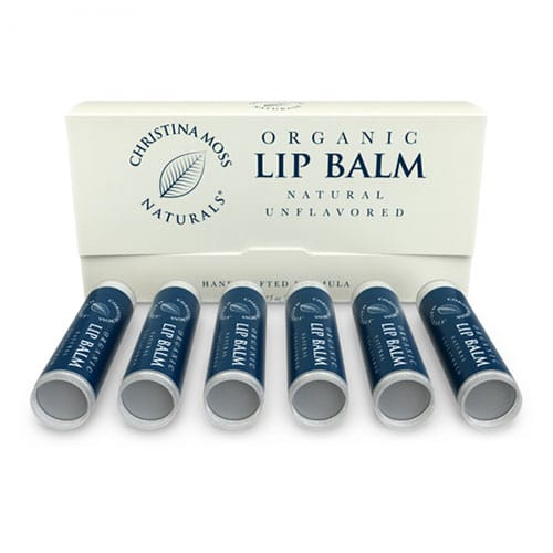Organic Lip Balm (Unflavored)