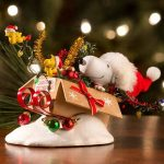 Possible Dreams Peanuts One Bird Open Sleigh Christmas Decoration