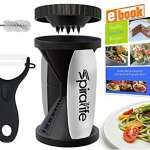 SpiraLife Handheld Vegetable Spiralizer & Zucchini Pasta Maker