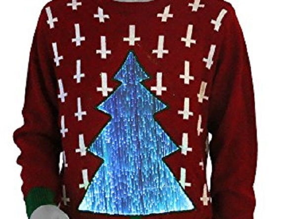 millennium ugly Christmas sweater