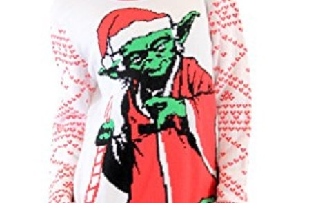 yoda ugly Christmas sweater