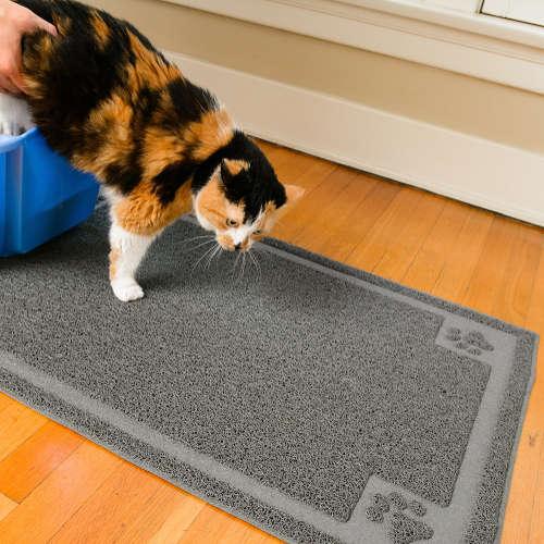 CleanHouse Elegant Large Cat Litter Mat - XL Super Sized
