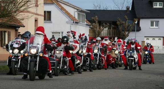 biker Christmas magic