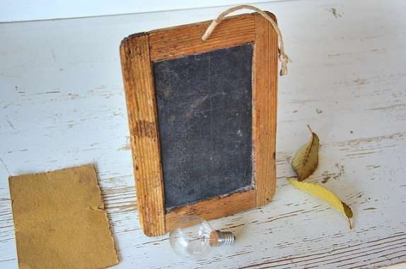 chalkboard DIY Christmas gifts