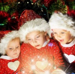 Angels on Motorcycles Bring Christmas Magic to Abused Kids