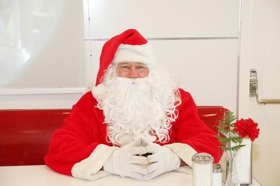 santa Christmas gift tip