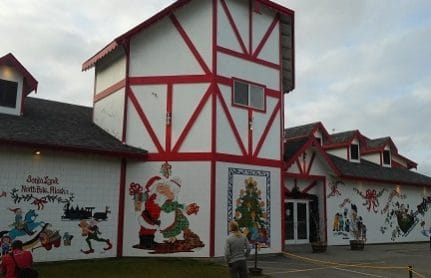 visit Santa's house at the North Pole