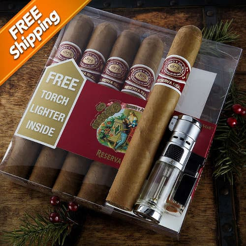 Romeo y Julieta Reserva Real Gift Pack with Lighter
