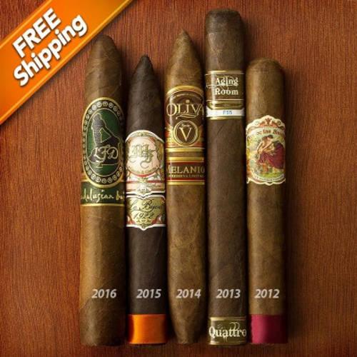 Cigar Aficionado #1 Cigars of the Year Sampler