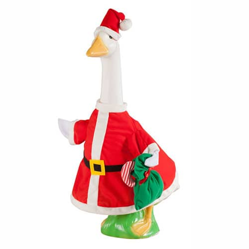 Santa Goose Outfit