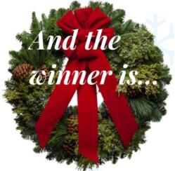 Who Won the ChristmasGifts.com Christmas Wreath Contest?