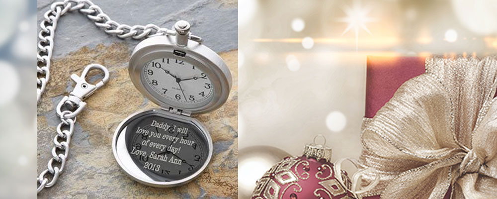 Engraved Silver Pocket Watch